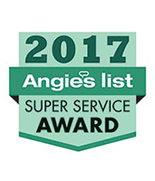 Angie's List Super Service Award 2017 as a Siding Contractor in Kansas City