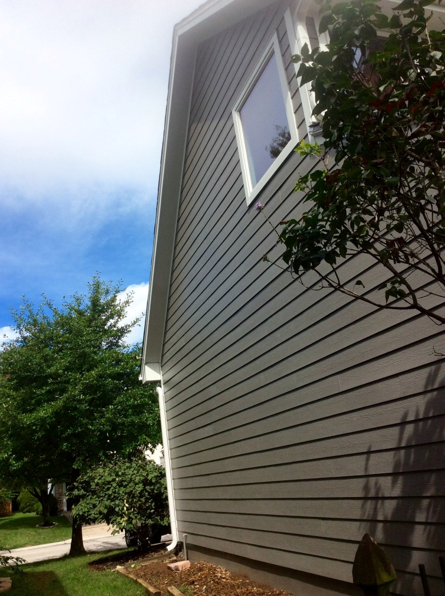 Aged Pewter Siding Leawood Ks James Hardie Siding
