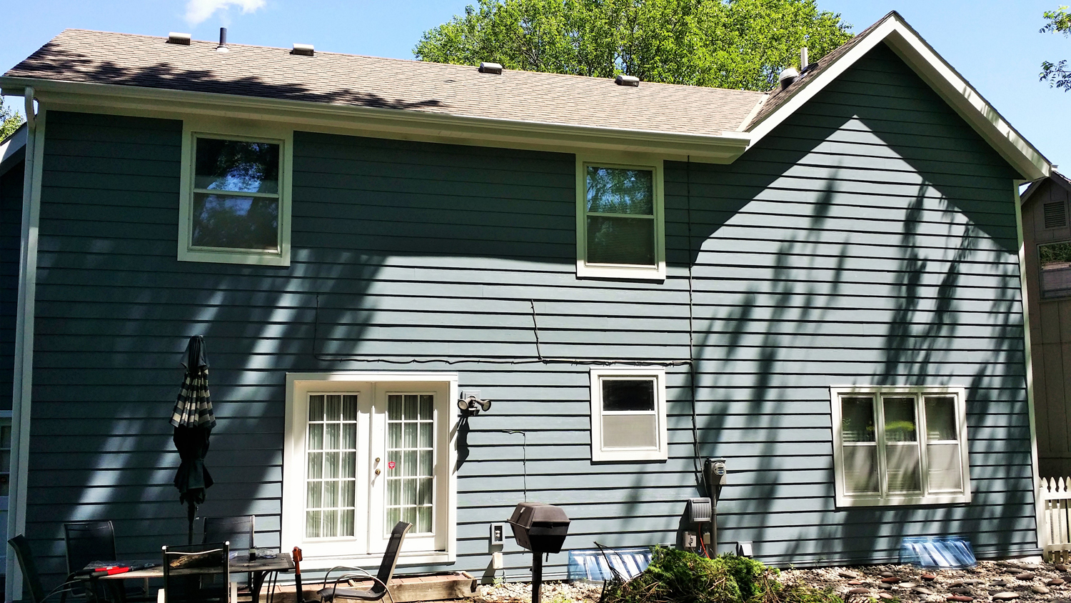 Boothbay Blue Projects James Hardie Siding Installation