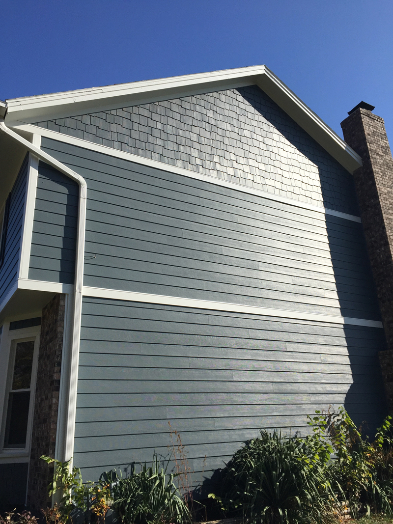Evening Blue Projects James Hardie Siding Installation Kansas City