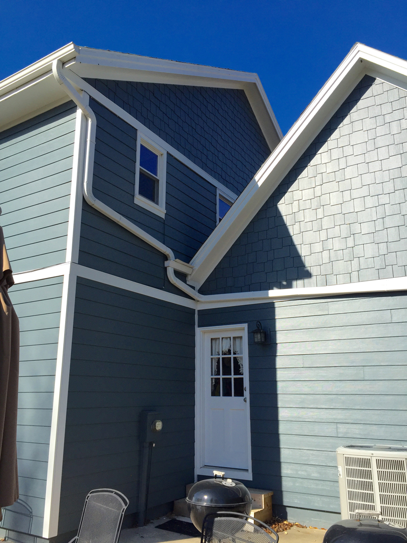 Evening Blue Projects James Hardie Siding Installation