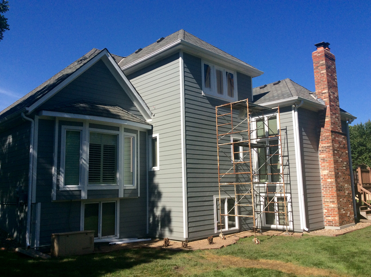 Grey Slate Projects James Hardie Siding Installation Kansas City