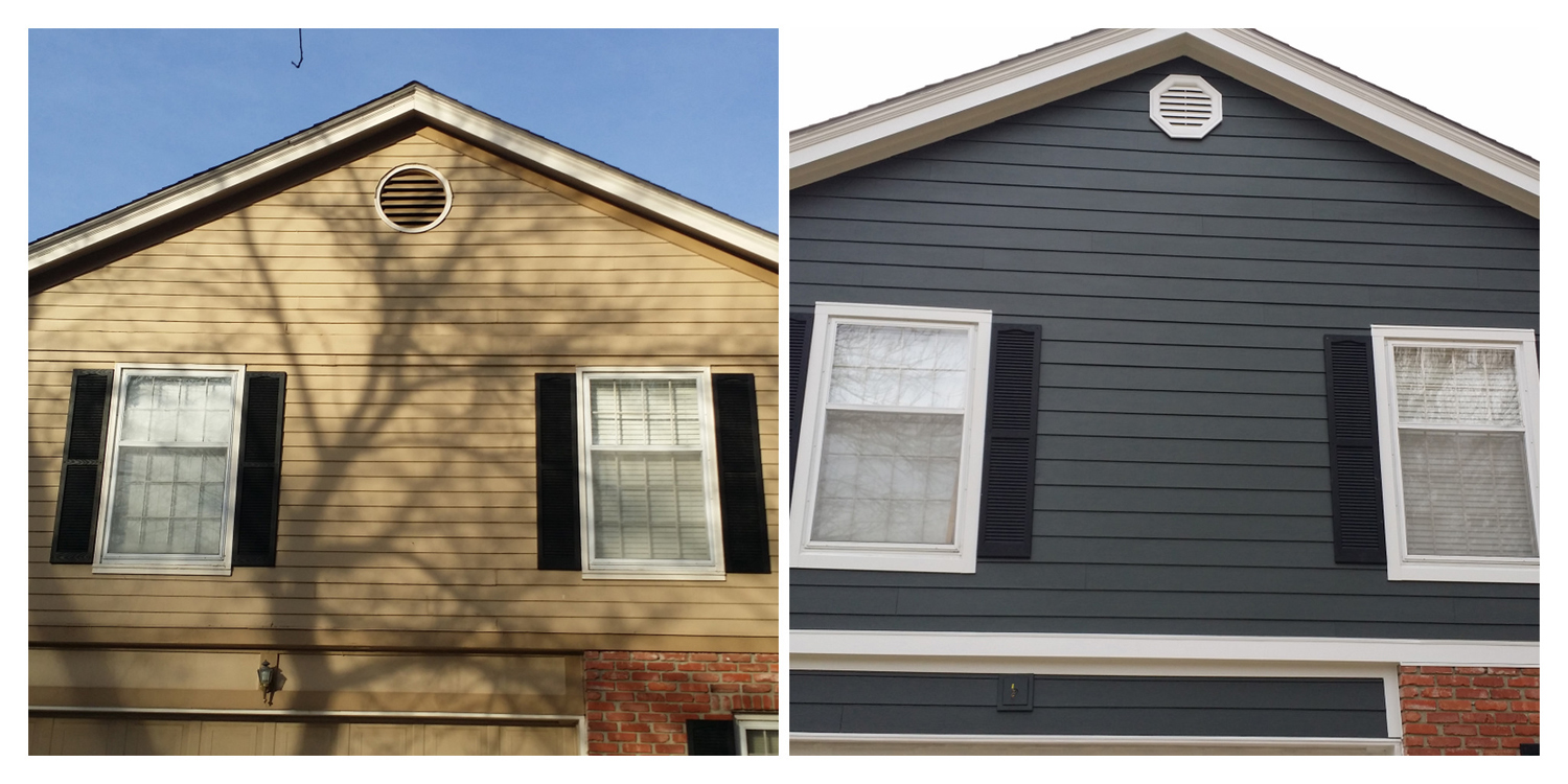 Very Iron Grey Projects - James Hardie Siding Installation Kansas City ZY05