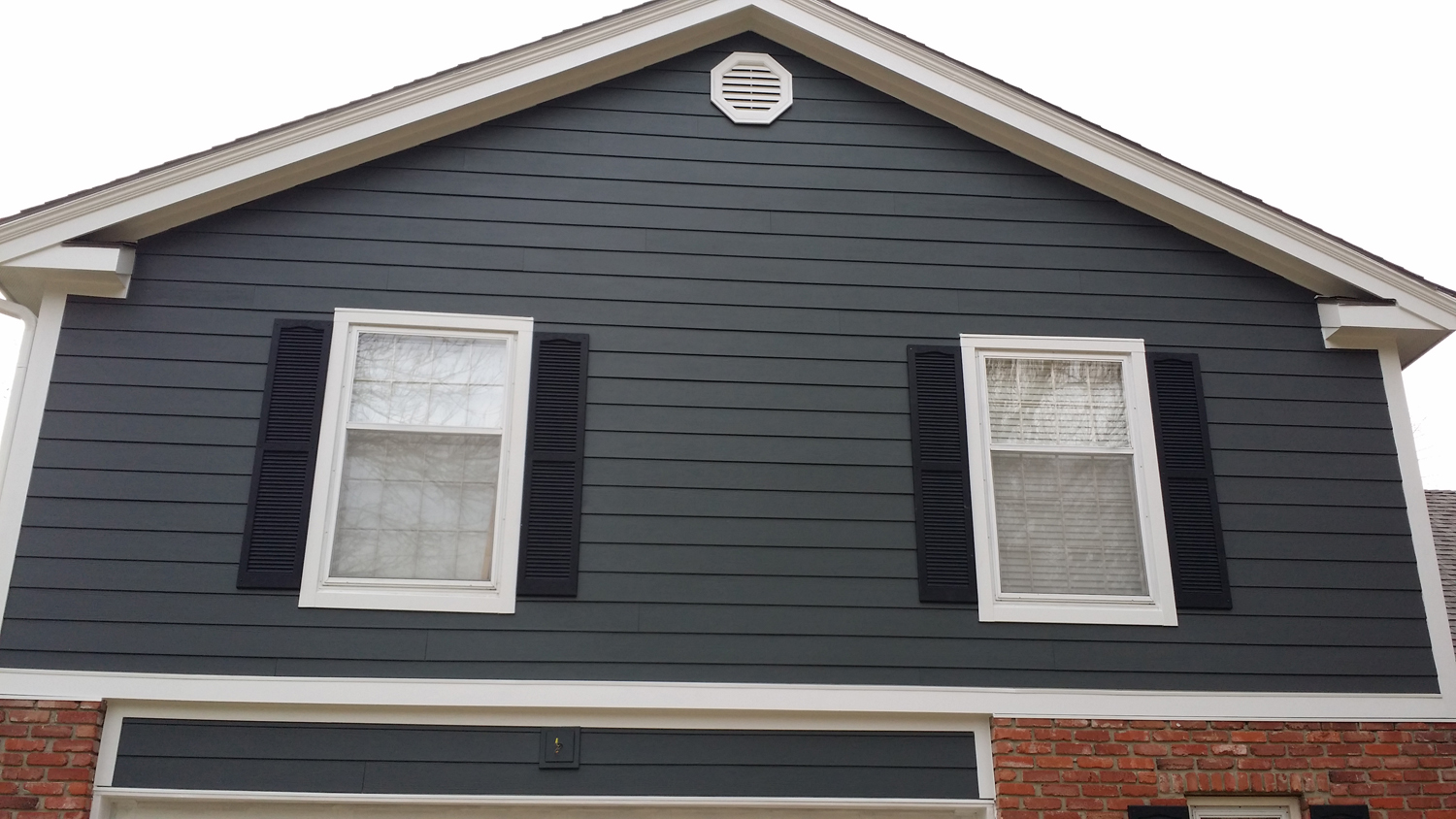 Iron Grey Projects James Hardie Siding Installation Kansas City