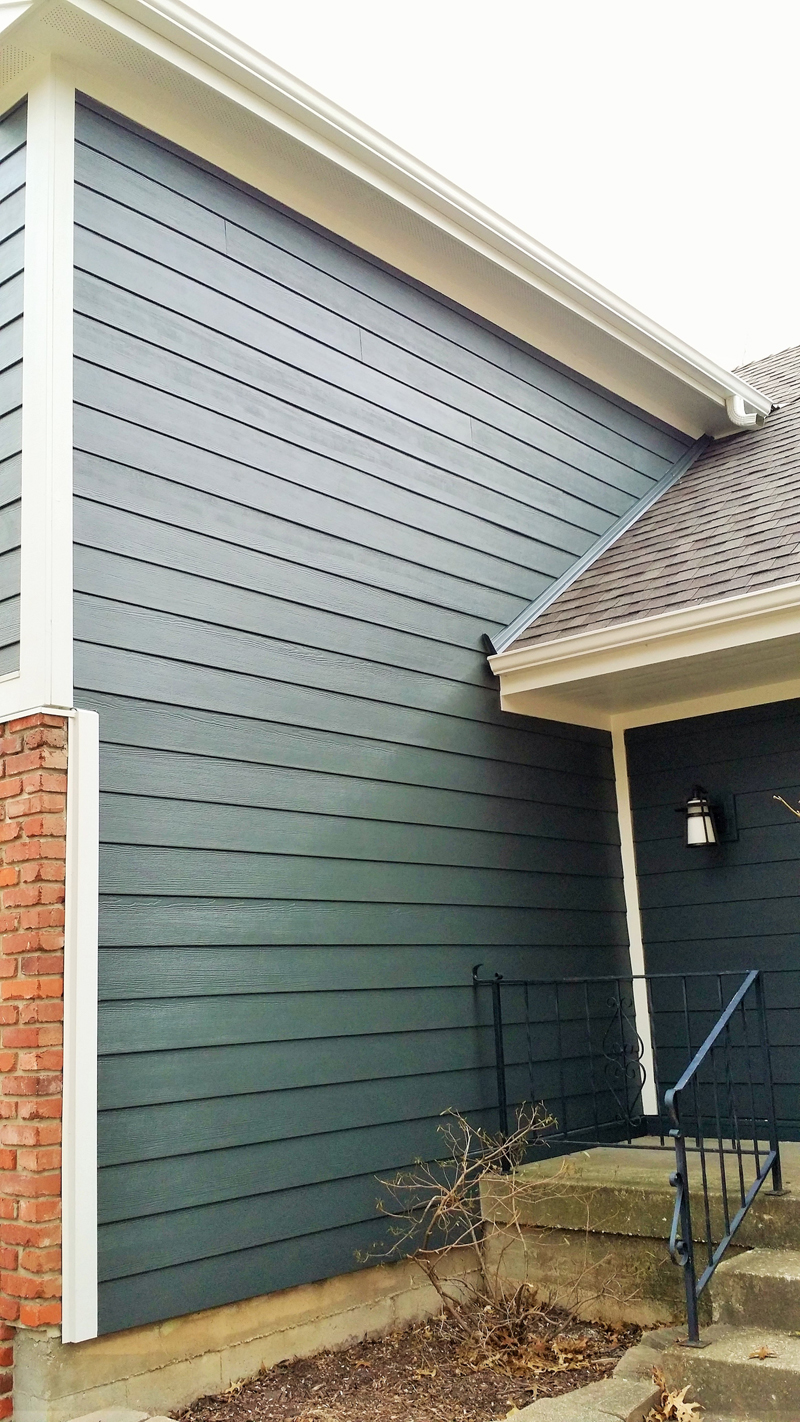 Famous Iron Grey Projects - James Hardie Siding Installation Kansas City ET98