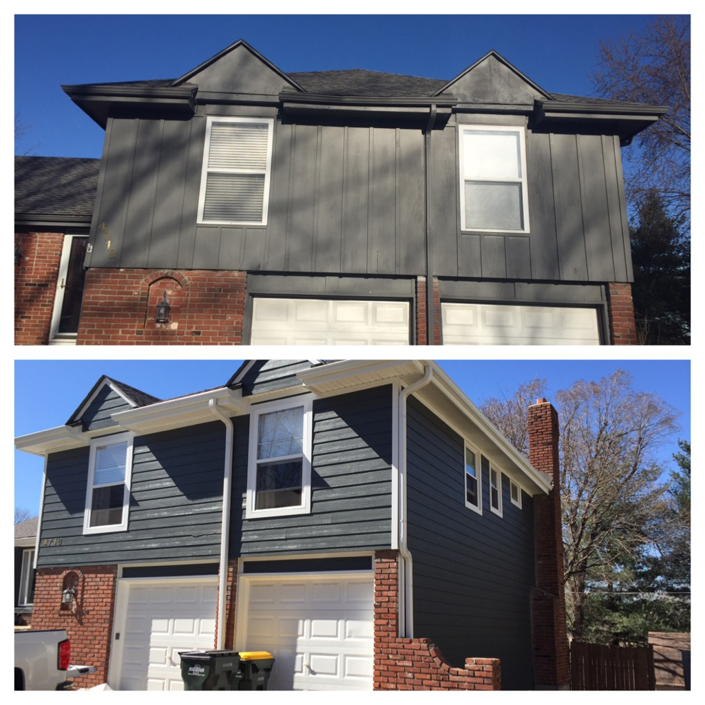 Fabulous Iron Grey Projects - James Hardie Siding Installation Kansas City VZ57