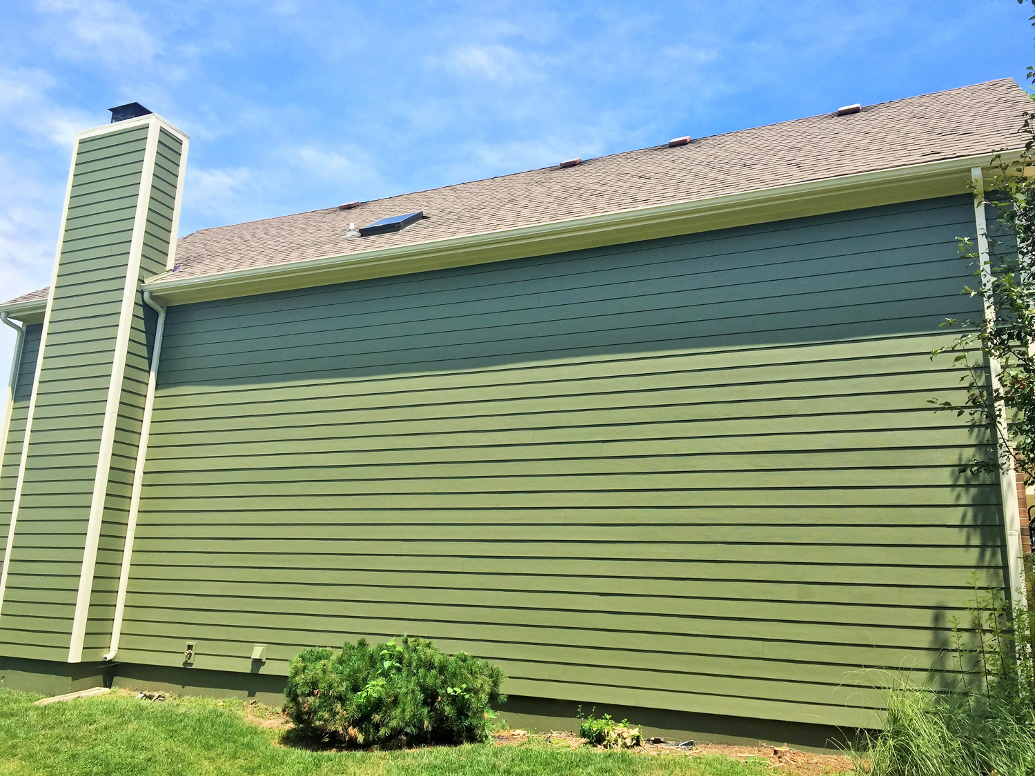 Mountain Sage Projects James Hardie Siding Installation Kansas City