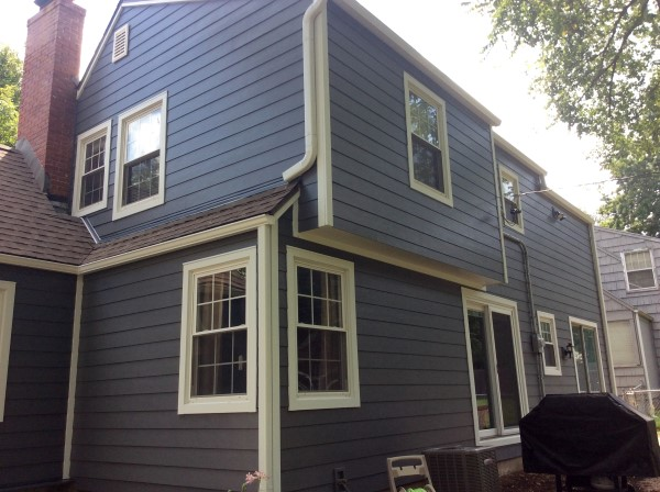 Night Gray Siding James Hardie Siding Installation