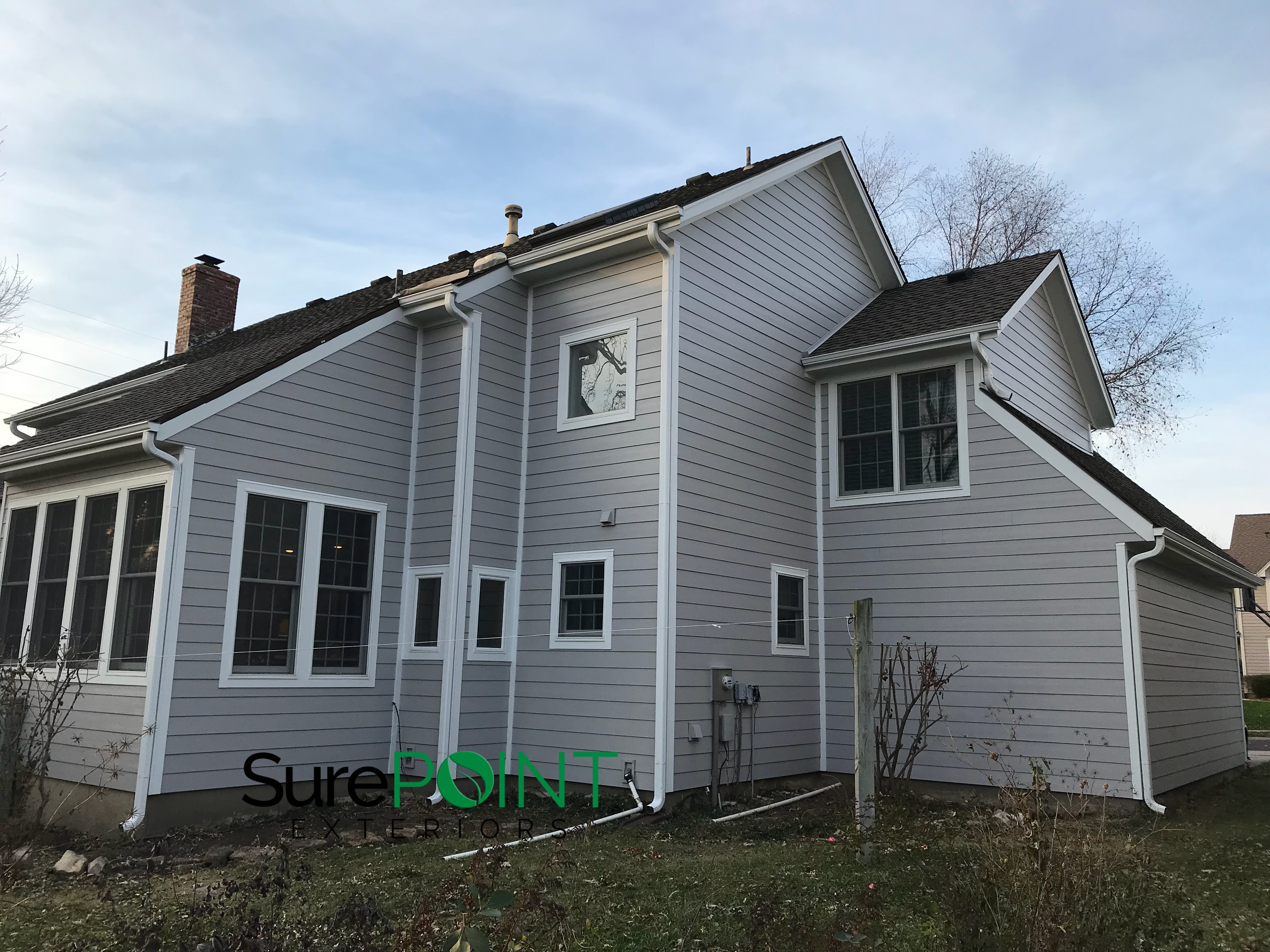Pearl Gray Projects James Hardie Siding Installation