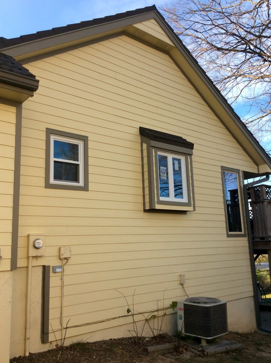 Woodland Cream Siding James Hardie Siding Installation Kansas City